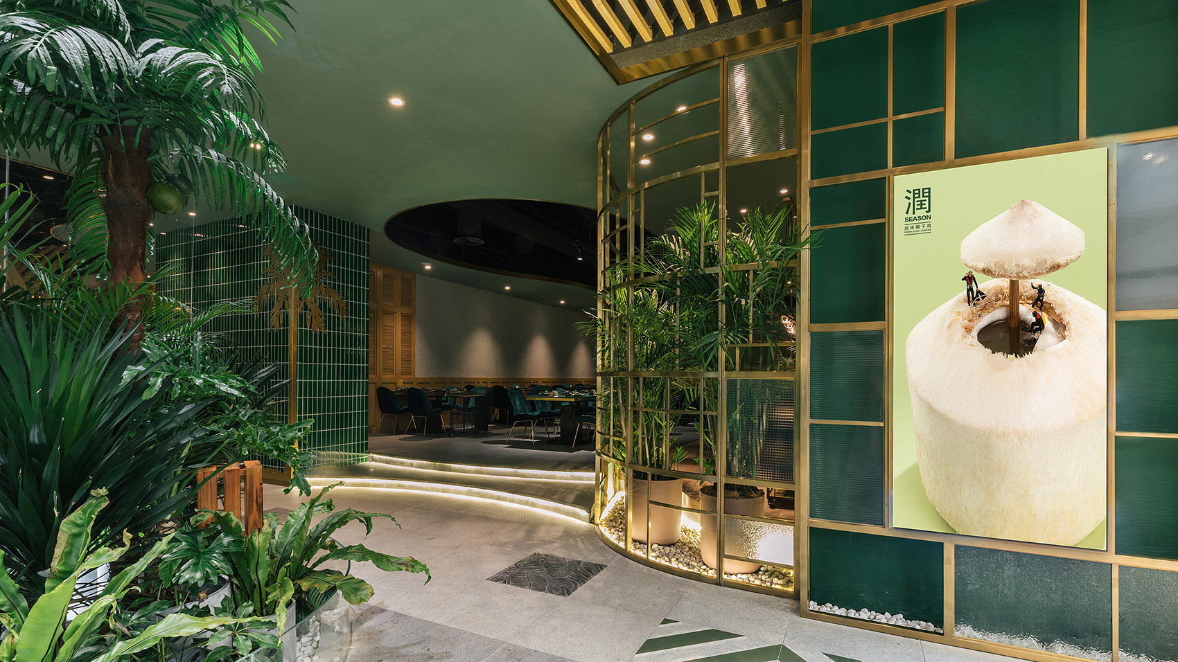 南阳餐厅装修设计公司哪家好,100平米饭店装修设计多少钱?